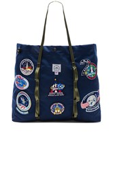 Epperson Mountaineering Vintage Nasa Patch Large Tote Navy
