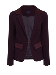 Hotsquash Tuxedo Jacket With Silky Trim Violet