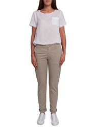French Connection Summer Stretch Chinos Sandstone