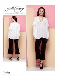Vogue 'S Blouse And Trousers Sewing Pattern 1618