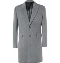 Hardy Amies Cashmere Overcoat Gray