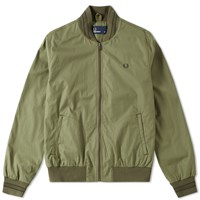 Fred Perry Tramline Bomber Jacket Green
