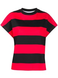 Roseanna Rugby Red Striped T