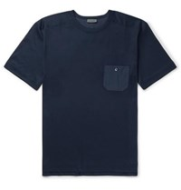 Zimmerli Cotton And Modal Blend Jersey T Shirt Navy