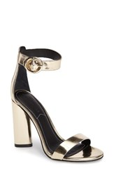 Kendall Kylie Women's Giselle Strappy Sandal Light Gold