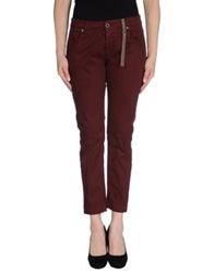 Two Women In The World Casual Pants Maroon