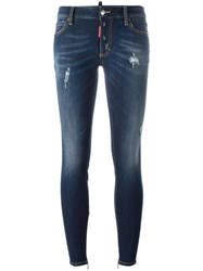 Dsquared2 Twiggy Light Bleach Jeans Blue