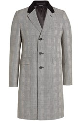 Alexander Mcqueen Virgin Wool Prince Of Wales Coat