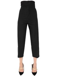 Jacquemus Wool Blend Cropped Pants