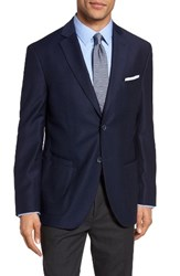 Jkt New York Men's Trim Fit Stretch Wool Blazer