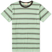 Levi's Vintage Clothing 1960S Casual Stripe Tee Green