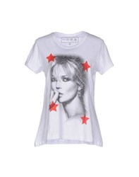 Hope Collection Topwear T Shirts Women White