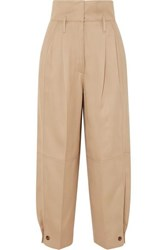 Givenchy Woven Tapered Pants Beige