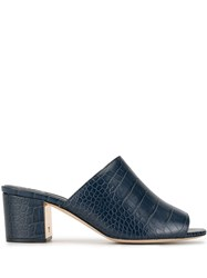 Tory Burch Croc Effect Mules 60