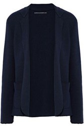 Majestic Filatures Knitted Cardigan Navy