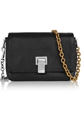 Proenza Schouler Courier Extra Small Textured Leather Shoulder Bag