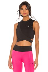 Puma Chase Crossover Top Black