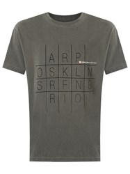 Osklen Printed T Shirt Grey