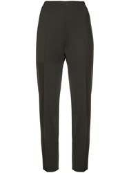 Piazza Sempione Tapered Trousers Brown