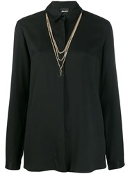 Just Cavalli Chain Shirt Black