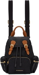 Burberry Black Small Rucksack