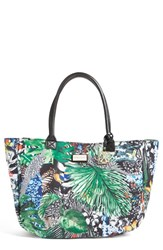 Cxl By Christian Lacroix 'Amaryllis' Canvas Tote Green Jardin