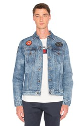 Deus Ex Machina Land Ronald Jacket Indigo