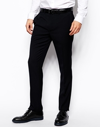 French Connection Slim Fit Suit Tuxedo Trouser Navy