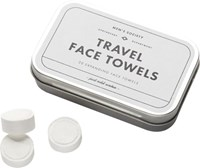 Cb2 Set Of 20 Men's Society Compressed Towel Tablets