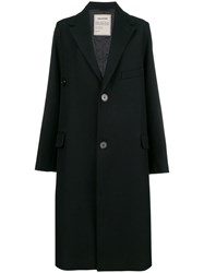 Zadig And Voltaire Oversized Buttoned Coat Black