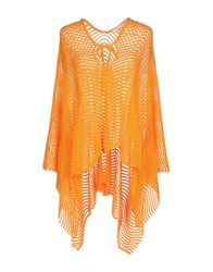 Jucca Capes And Ponchos Orange