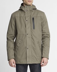 Revolution Khaki Waterproof Breast Pocket Zip Up 7443 Parka