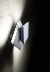Holtkoetter 9520Led Cubic Wall Sconce Silver