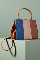 Anthropologie Ida Striped Tote Honey