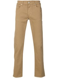 Department 5 Straight Leg Jeans Brown