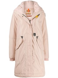 Parajumpers Hooded Parka Coat Pink