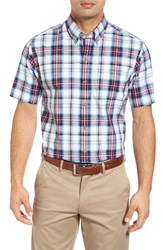 Cutter And Buck Men's Nicolai Check Wrinkle Free Sport Shirt