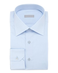 Stefano Ricci Basic Barrel Cuff Dress Shirt Blue