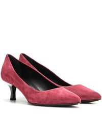 Tod's Suede Pumps Pink