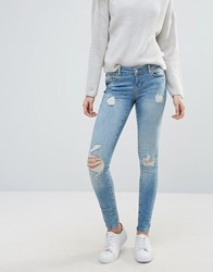 Vero Moda Five Super Slim Jeans Medium Blue Denim