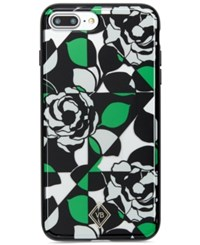 Vera Bradley Printed Clear Flexible Iphone 7 Plus Case Imperial Rose