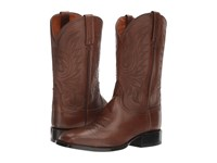 Lucchese Jason Antique Brown Cowboy Boots