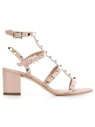 Valentino Garavani 'Rockstud' Sandals Nude And Neutrals