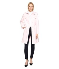 Kate Spade 38 Trench Coat Pastry Pink