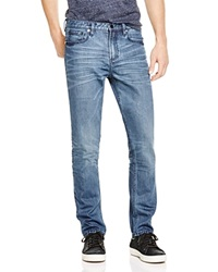 Blank Standard Straight Fit Jeans In Blue