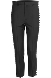 Mcq By Alexander Mcqueen Wool Mohair Trousers With Trim