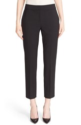 St. John Women's Collection 'Emma' Tropical Wool Crop Pants