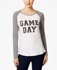 Retro Brand Football Graphic Top Game Day