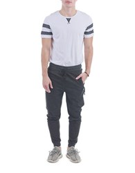 Sovereign Code Juan Striped Sleeved Tee Black