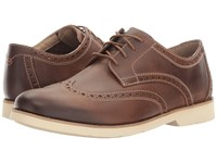 Bostonian Pariden Wing Tan Leather Taupe Men's Lace Up Cap Toe Shoes Brown